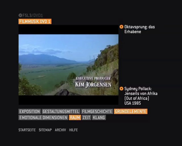 """FSL 3 - """"Filme Sehen Lernen"""" Musik, Lehr-DVD"""